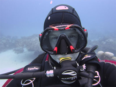 best scuba mask 2015 in action