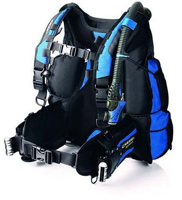 cressi air travel BCD review