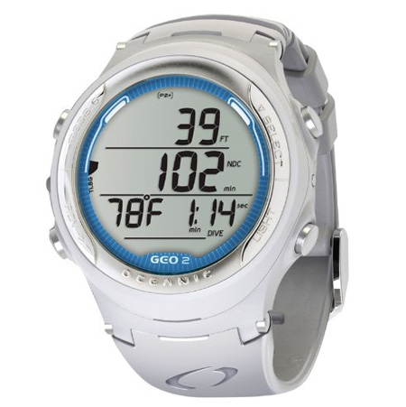 oceanic geo 2 dive computer review