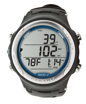 Oceanic geo 2 wrist computer review