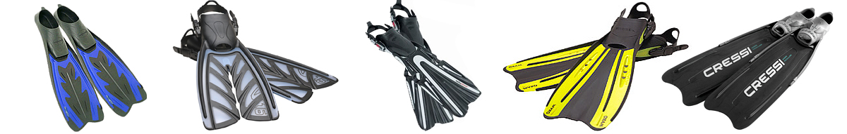 best scuba diving fins
