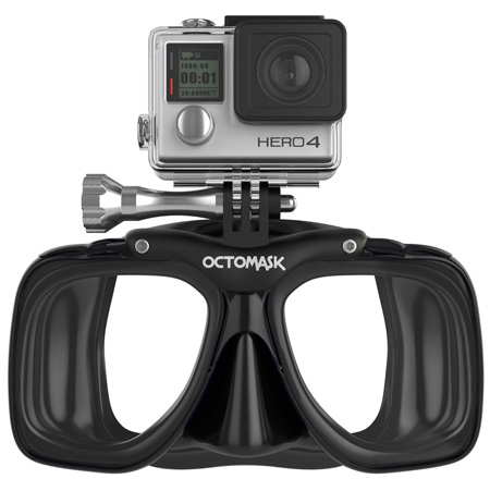 octomask gopro dive mask reveiew