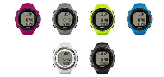 suunto d4i dive computer color options