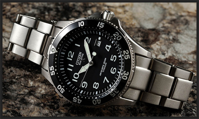 best citizen dive watches for men
