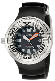 citizen mens diving watch eco diver