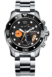 jiusko mens diver watch