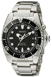 seiko dive watches SKA371 kinetic stainless steel