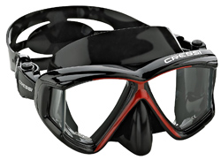 best dive masks cressi panoramic