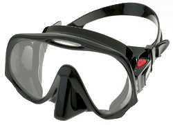 best scuba mask atomic aquatics frameless