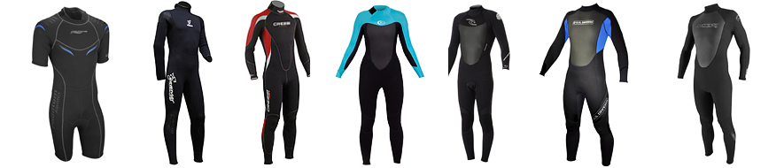 best mens & womens wetsuits