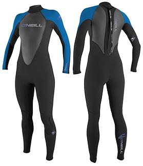 oneill reactor womens wetsuit