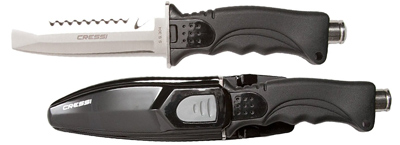 best diving knife cressi skorpion