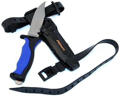 promate titanium dive knife